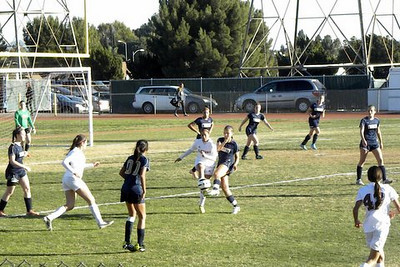 JV Girls Soccer v. Alemany February 3, 2014