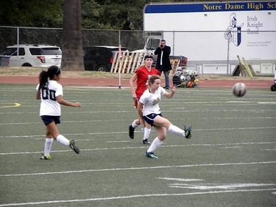 JV Girls Soccer v. FSHA 1-24-14