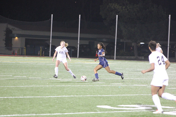 ND Girls Varsity Soccer vs Harvard Westlake