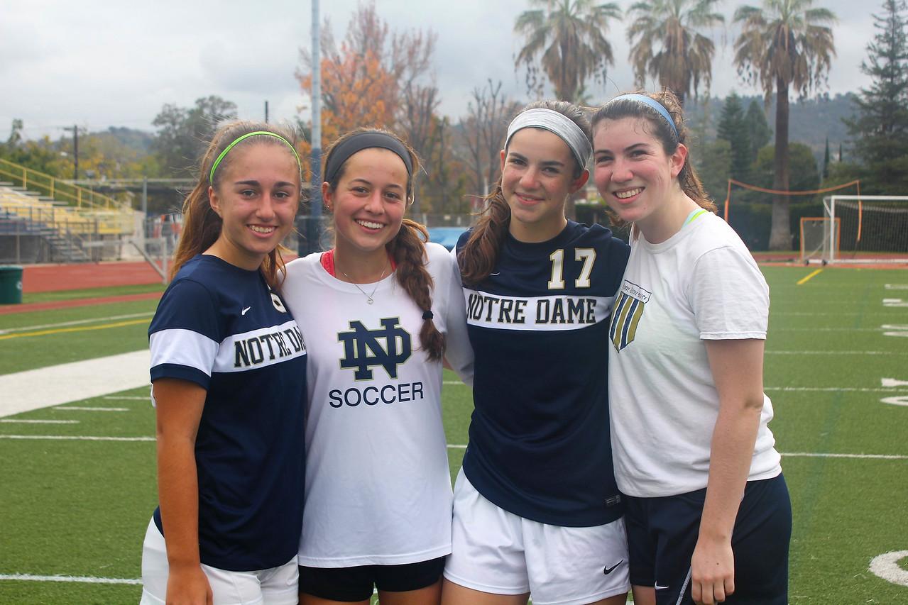 Zoey Weisman & Megan Tadeusiak took on their alumni sisters Emily (2014) & Sarah (2015).