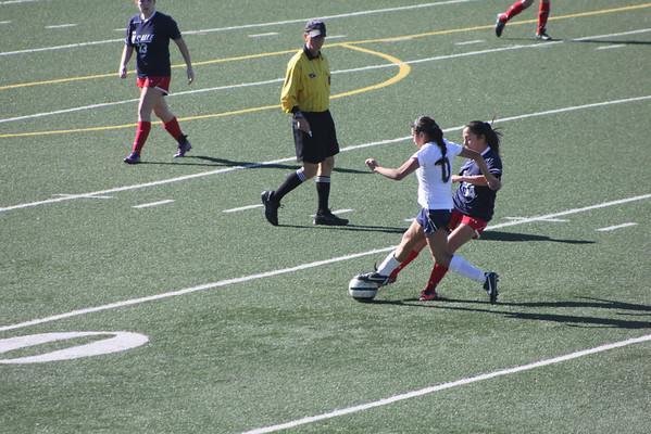 ND Varisty Girls Soccer v. La Salle 12-23-13