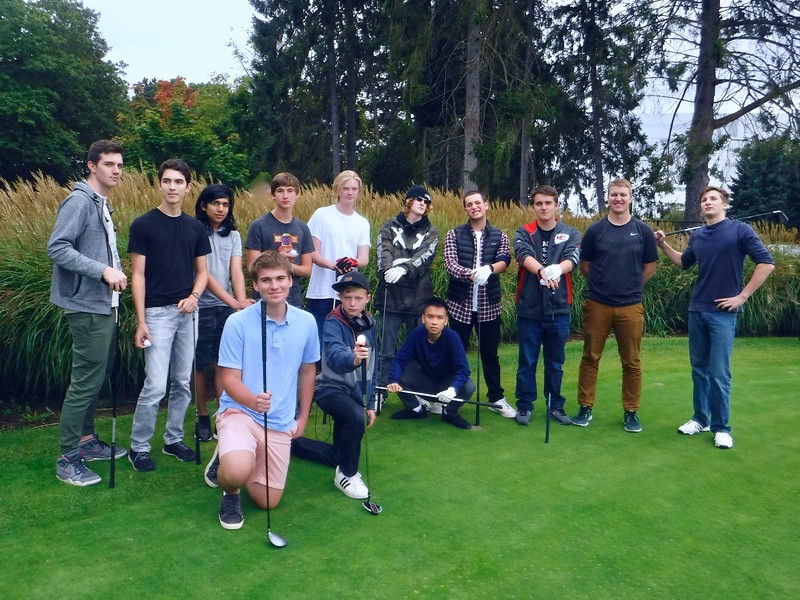 2017-2018 Boys' JV Golf