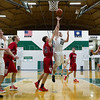 Dylan Buell | dylanphotog@gmail.com | @dylanphotog<br /> Cody Ross #23 of the Western Hills Wolverines attempts a layup during the game at Lapsley Cardwell Gym Monday night.