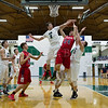 Dylan Buell | dylanphotog@gmail.com | @dylanphotog<br /> Matthew Peal #2 of the Western Hills Wolverines attempts a block against Christian Gritton #24 of the Anderson County Bearcats during the game at Lapsley Cardwell Gym Monday night.