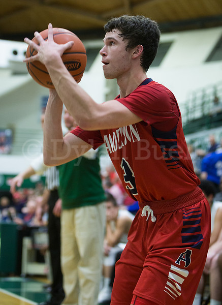 Dylan Buell | dylanphotog@gmail.com | @dylanphotog<br /> John Paul Garmon #3 of the Anderson County Bearcats attempts a shot during the game at Lapsley Cardwell Gym Monday night.