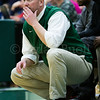 Dylan Buell | dylanphotog@gmail.com | @dylanphotog<br /> Head coach Geoff Cody of the Western Hills Wolverines watches the action during the game at Lapsley Cardwell Gym Monday night.