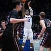 "Dylan Buell | dylanphotog@gmail.com | @dylanphotog<br /> Anthony Mathis #2 of the Kentucky Country Day Bearcats attempts a shot during the All ""A"" Tournament at the Frankfort Convention Center Thursday."
