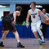 """Dylan Buell   dylanphotog@gmail.com   @dylanphotog<br /> Colin Ferguson #12 of the Kentucky Country Day Bearcats takes the ball up the court during the All """"A"""" Tournament at the Frankfort Convention Center Thursday."""