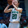 "Dylan Buell | dylanphotog@gmail.com | @dylanphotog<br /> Emma Bianchi #20 of the Harlan Dragons attempts a shot during the All ""A"" Tournament at the Frankfort Convention Center Friday."