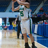 "Dylan Buell | dylanphotog@gmail.com | @dylanphotog<br /> Brooklyn Massingill #25 of the Harlan Dragons attempts a shot during the All ""A"" Tournament at the Frankfort Convention Center Friday."