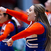 "Dylan Buell | dylanphotog@gmail.com | @dylanphotog<br /> The Frankfort cheerleaders perform during the All ""A"" Tournament at the Frankfort Convention Center Friday."