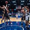 "Dylan Buell | dylanphotog@gmail.com | @dylanphotog<br /> Alexis Burpo #32 of the Murray Tigers reaches for a rebound during the All ""A"" Classic Championship at the Frankfort Convention Center Sunday."