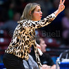 "Dylan Buell | dylanphotog@gmail.com | @dylanphotog<br /> Head coach Rechelle Turner of the Murray Tigers calls out instructions during the All ""A"" Classic Championship at the Frankfort Convention Center Sunday."