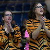 "Dylan Buell | dylanphotog@gmail.com | @dylanphotog<br /> Murray fans cheer during the All ""A"" Classic Championship at the Frankfort Convention Center Sunday."