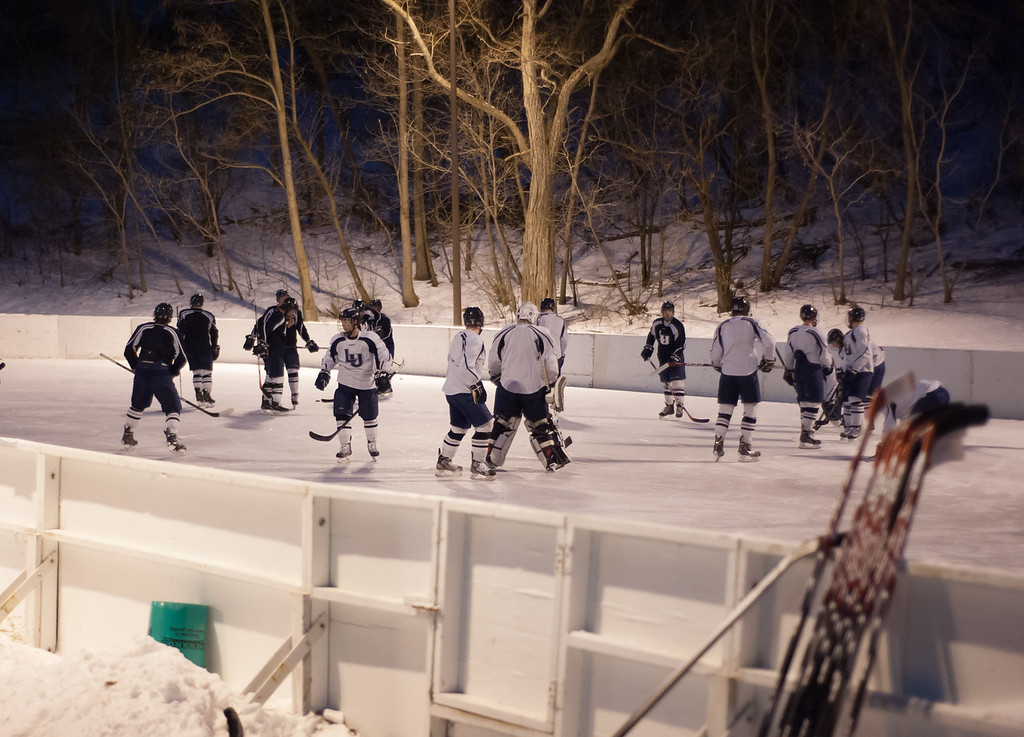 Pierce Park outdoor practice