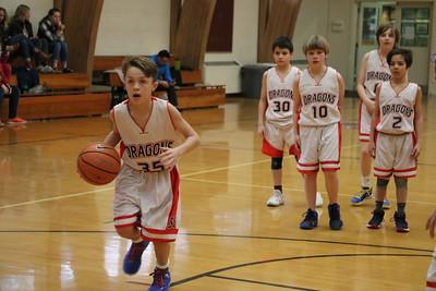 LS 5th Boys Basketball vs Cataldo 2-13-18