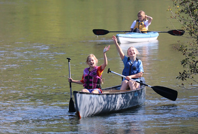 LS 5th Canoeing the Little Spokane 9-7-18