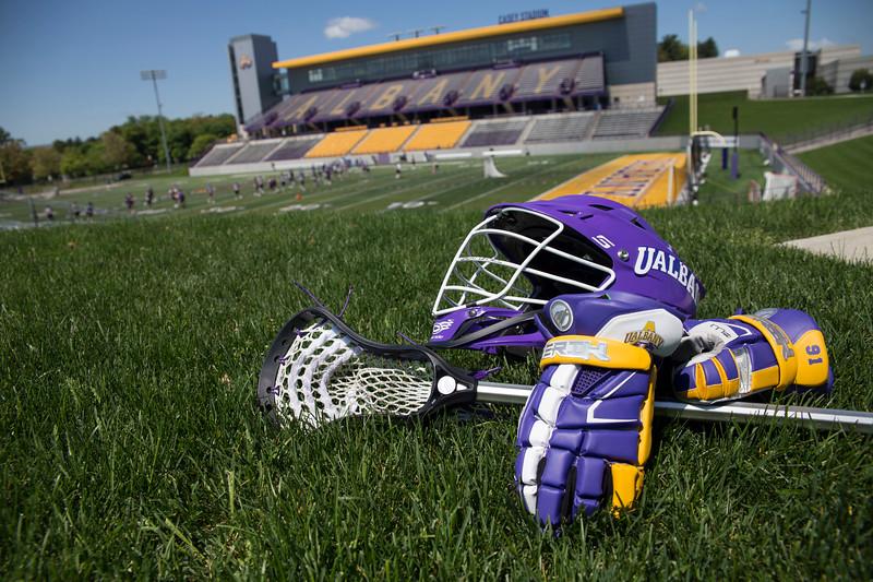 UAlbany Men's lacrosse stock photos (photo by Patrick Dodson / University at Albany)