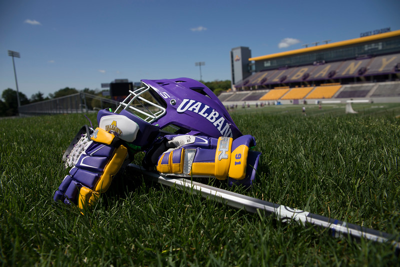 UAlbany Men's lacrosse stock photos (photo by Patrick Dodson / University at Albany)