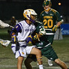 Lyle Thompson looks to pass against Australia at the World Championships. Photo Kenny Frost, Iroquois Nationals