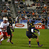 Miles Thompson looks  to shoot against England at the World Lacrosse Championships. Photo: Kenny Frost, Iroquois Nationals