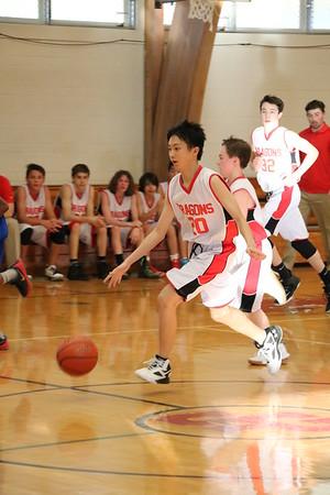 MS 8th Boys Basketball vs Deer Park 3-12-18
