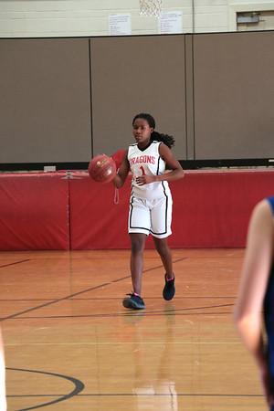 MS 8th Girls Basketball vs Deer Park 3-12-18
