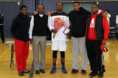 Senior Night and Basket Ball Game 02-15-14