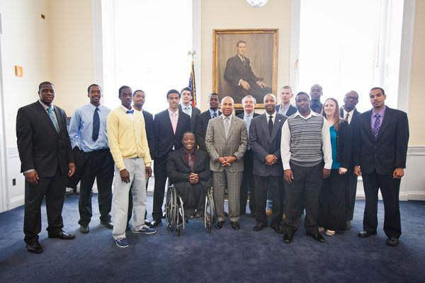 2012-2013 MassBay Basketball Team
