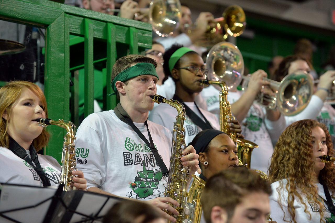 band; Marshall University; Marshall Basketball; Marshall Men's Basketball; Basketball; College Basketball; Herd Hoops; Herd; Marshall University Basketball; Marching Thunder; Marshall University Band; Marshall Bands