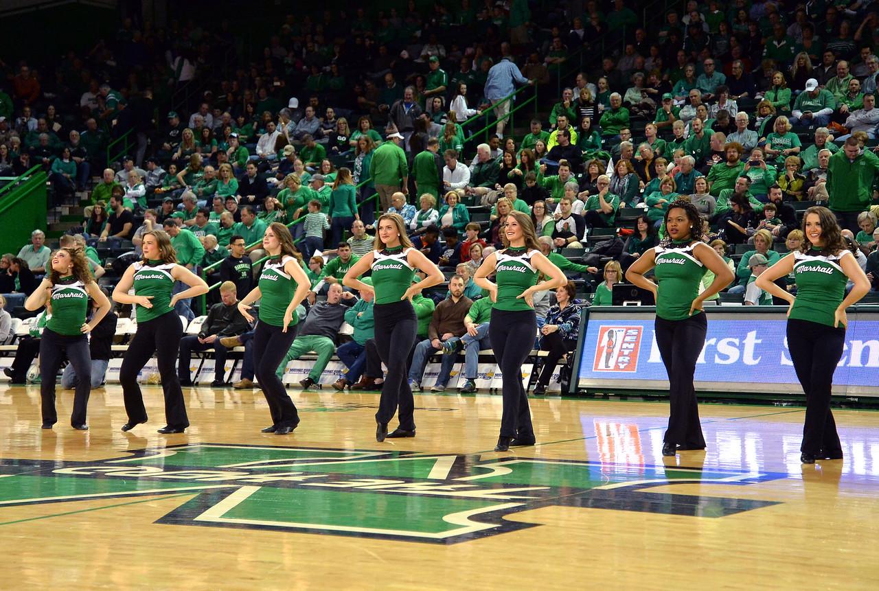Marshall University; Marshall Basketball; Marshall Men's Basketball; Halftime; Basketball; College Basketball; Herd Hoops; Herd; Marshall University Basketball; Dance Team; Marshall University Dance Team
