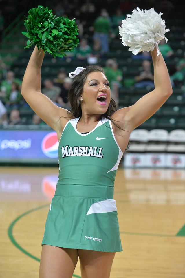 Marshall University; Marshall Basketball; Marshall Men's Basketball; Halftime; Basketball; College Basketball; Herd Hoops; Herd; Marshall University Basketball; Cheerleaders; Marshall University Cheerleaders