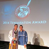 University at Albany men's lacrosse stars Miles and Lyle Thompson became the first co-winners of the Tewaaraton Award, the sport's version of the Heisman Trophy.<br /> <br /> The trophy, given to the best player in the nation, was awarded Thursday night at the Smithsonian Institution's National Museum of the American Indian. The Thompsons are the first Native Americans to win the Tewaaraton.  Photographer: Dave Vatz, UAlbany Athletics