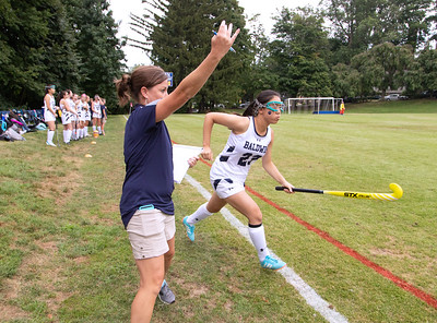 SEPTEMBER 7, 2018 - BRYN MAWR, PA -- Baldwin School Varsity Field Hockey vs Friends' Central School Friday, September 7, 2018.  PHOTOS © 2018 Jay Gorodetzer -- Jay Gorodetzer Photography, www.JayGorodetzer.com