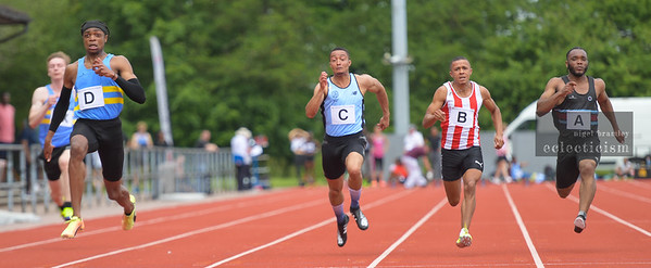 Match one of the National Athletics League Premier London South.