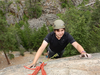 Outdoor Club Climbing in BC 6-18 to 6-24-18