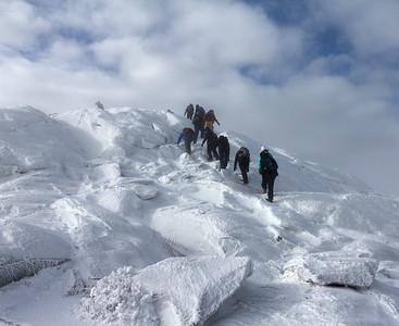 Mt. Monadnock Winter Hike