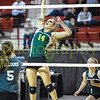 Basehor-Linwood HS vs Rose Hill HS at the state tournament at the Bicentennial Center in Salina Ks. Rose Hill Won 25-18 and 24-22