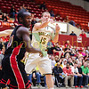 Basehor-Linwood HS vs El Dorado HS. Salina Kansas 4A Basketball State Quarter-finals. March 13, 2014. El Dorado wins 66-60