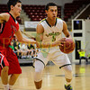 Basehor-Linwood HS vs Ottawa HS. 4A - 1 State basketball tournament. Basehor-Linwood wins 51-44