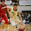 Basehor-Linwood HS vs Ottawa HS. 4A - 1 State basketball tournament. Basehor-Linwood wins 51-44