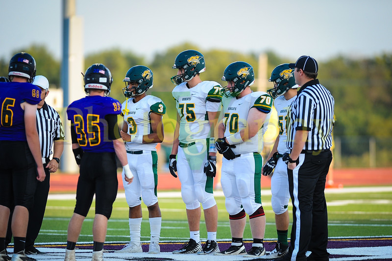 High school football between Basehor-Linwood and Spring Hill in Kansas. BLHS wins 38-0 at Spring Hill