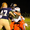 High school football playoff action between Bonner Springs at St Thomas Aquinas. STA defeated BS 52-13 in a game played at St Thomas Aquinas.