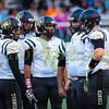 High school football between Bonner Springs and Turner. Sept 1 2017. Bonner Springs win 56-0 over Turner
