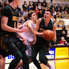 Kansas State 5A Basketball Tournament located in Emporia KS. Basehor-Linwood vs Bishop Carroll on March 9th, 2019. BLHS wins 69-68