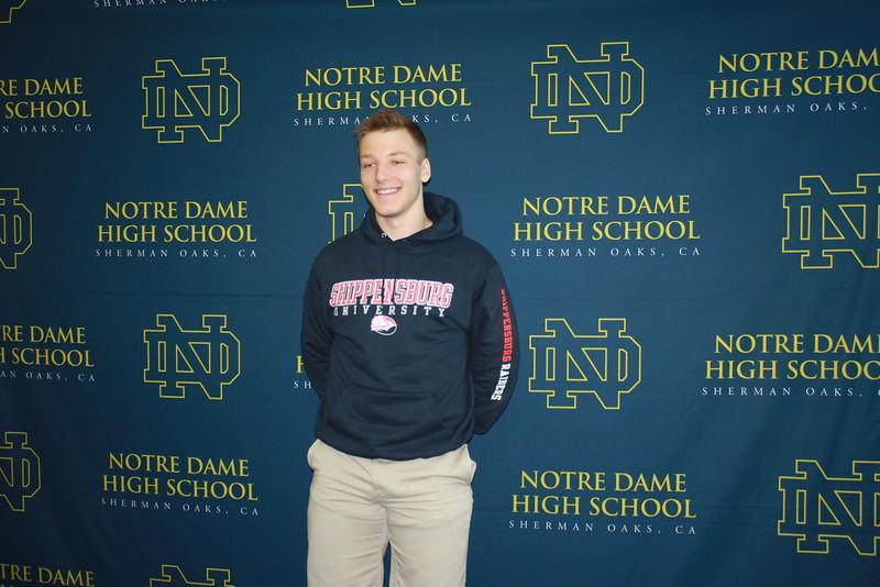 Cole Klayman will play football at Shippensburg University.