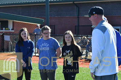 2018-03-03 SB FCA Donations of The Athlete Bible to Softball Team