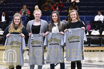 2018-11-27 SB Softball HS Signee Recognition On Court