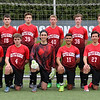 2017-2018 Boys' JV Red Soccer - With all Seniors but missing some Underclassmen