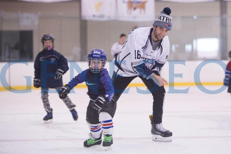 Spring 2018 Jr. Ice Knights Skate Around with Geneseo Ice Knights. Photos by Ben Gajewski